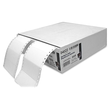 AveryMD – Étiquettes blanches pour expédition, 4 x 1 15/16 po, 5000/paq