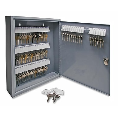 Sparco All Steel 80-Key Hook Design Cabinet with Security Lock, 14