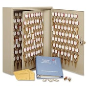 MMF Dupli-Key II Key Security Lock Cabinet, Sand