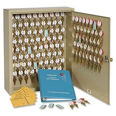 MMF Dupli-Key II 120-Key Wall Cabinet with Security Lock, 16-1/2