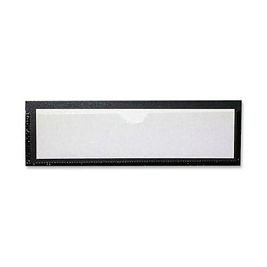 Tatco Magnetic Label Holders, Black, 10/Pack