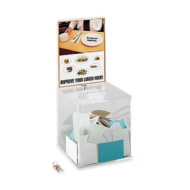 Safco® Collection Box, 5- 1/2
