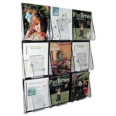 Deflect-o Wall Mount Literature Rack, 27-2/5
