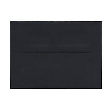 JAM Paper® A6 Invitation Envelopes, 4.75 x 6.5, Black, 100/Pack (22115363g)
