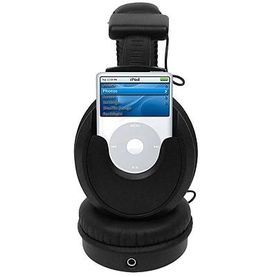 Trademark Global 72-4161 Nano Headphone, Black