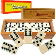 WWF Premium Set of 28 Double Six Dominoes Game