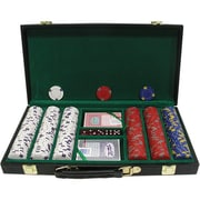 Trademark Poker™ 300 Pro Clay Casino Chips With Deluxe Case