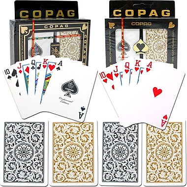 Copag Poker & Bridge Regular Index Card, Black/Gold