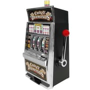 Trademark Poker™ Crazy Diamonds Slot Machine Bank