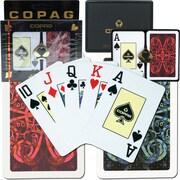 Copag Bridge Size Jumbo Index Card, Gold Line Aldrava