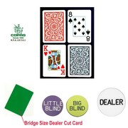Copag Bridge Size Jumbo Index Cards and Dealer Kit