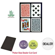 Copag Poker Size Regular Index Card and Dealer Kit