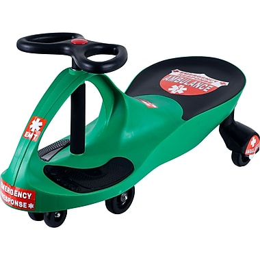 Lil' Rider™ Responder Ambulance Wiggle Ride-on Car, Green