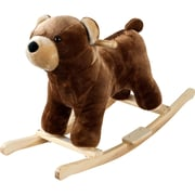 Happy Trails™ Plush Rocking Barry Bear With Sound, Brown