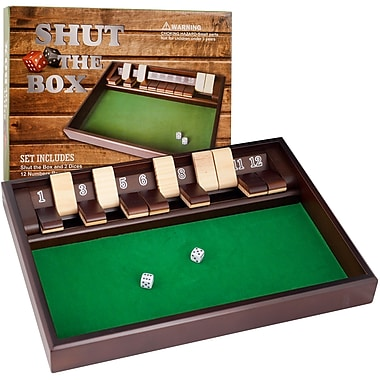 Trademark Games™ Shut The Box Game