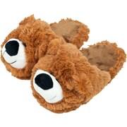 Cuddlee Small Slipper,Teddy Bear