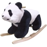 Happy Trails™ Plush Rocking Panda, White/Black