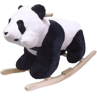 Happy Trails™ Plush Rocking Panda, White/Black