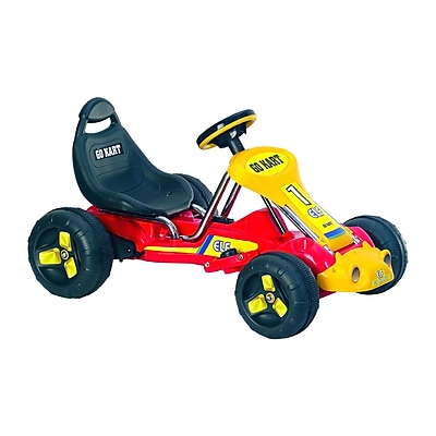 Lil' Rider Racer Battery Powered Go-Kart, Red