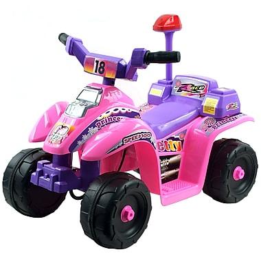 Lil' Rider™ Princess 4 Wheel Mini ATV, Pink/Purple