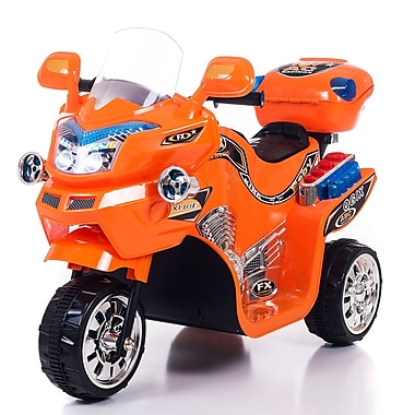 Lil' Rider™ Battery Powered FX 3 Wheel Bike, Orange