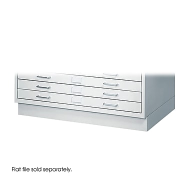 Safco 5 Drawer Flat File, Gray,Specialty, 40.25''W (4970LG)