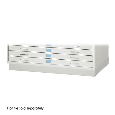 Safco Mobile Roll 5 Drawer Flat File, Gray,Specialty, 46.25''W (4973LG)