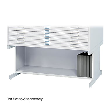 Safco® High Base For 4996 and 4986 Flat File, White