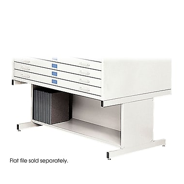 Safco® High Base For 4998 Flat File, White