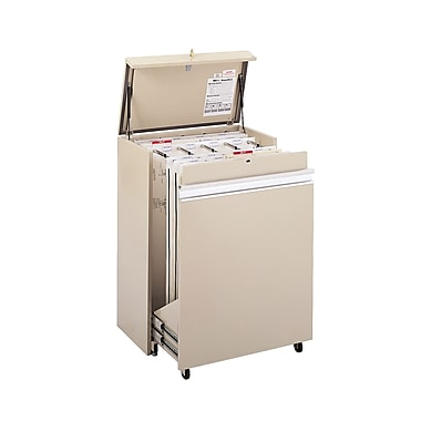 Safco MasterFile 1 Drawer Vertical File, Putty/Beige,Specialty, 36''W (5024AH)