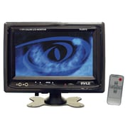 "Pyle® PLHR76 7"" Widescreen LCD Mobile Video Monitor With Headrest Shroud"