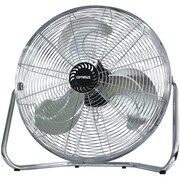 """Optimus F-4123 12"""" Industrial Grade High Velocity Fan With Painted Grill"""