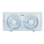 "Optimus F-5280 7"" Twin Window Fan"