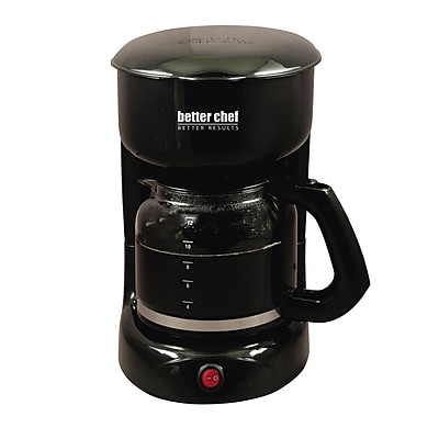 Better Chef® 12 Cup Coffee Maker, Black