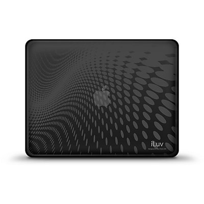 iLuv® Flexi-Clear Case For iPad 1G; Black