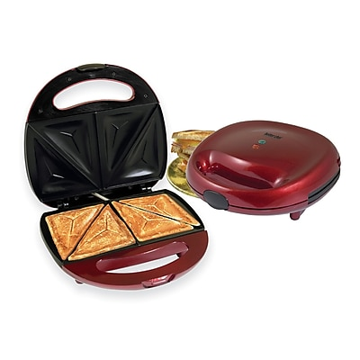 Better Chef® Sandwich Grill, Red