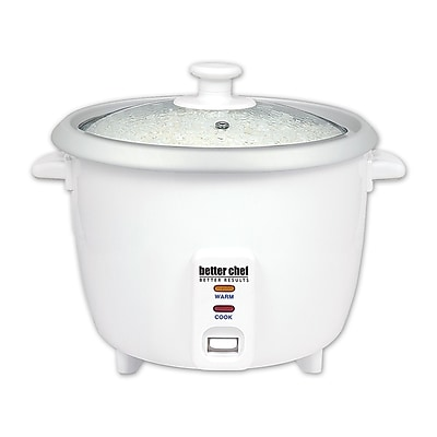 Better Chef® 8 Cup (16 Cups Cooked) Automatic Rice Cooker