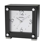 Seth Thomas 93576805M MDF Analog Piano Table Clock, Black