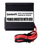 QFX 200 W Inverter With USB/Game Port, Black