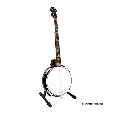 Pyle® 5 String Banjo With Chrome Plated Hardware