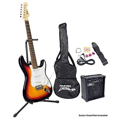 Pyle® Beginner Electric Guitar Package, Sunburst