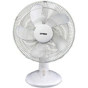 "Optimus F-1637 16"" Oscillating Table Fan, 5 Blades"