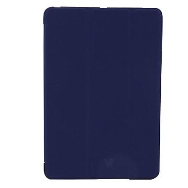 GameFitz 93577967M Tri Fold Folio Case for Apple iPad Tablet, Dark Blue
