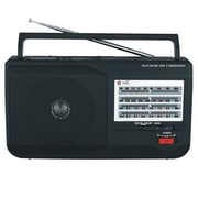Supersonic® SC-1086 5 Band AM/FM/SW1/SW2/TV Radio