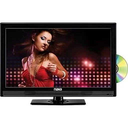 """Naxa® 24"""" Class FHD LED HDTV With Built In Digital Tuner and DVD Player"""