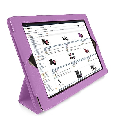 Tri-Fold Folio Case For iPad, Purple