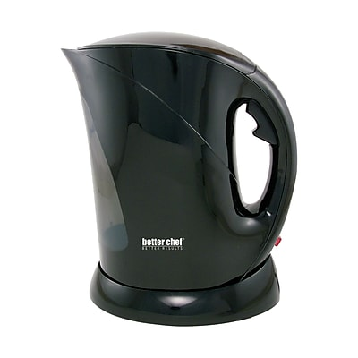Better Chef® 1.7 Liter Cordless Electric Kettle; Black