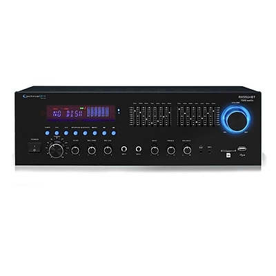 Technical Pro RX55URIBT Professional Receiver USB/SD Card Inputs With Bluetooth Compatibility