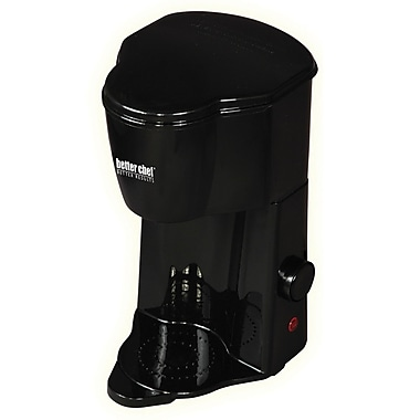 Better Chef® 1 Cup Personal Coffee Maker, Black