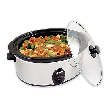 Better Chef® 3.7 Quart Slow Cooker